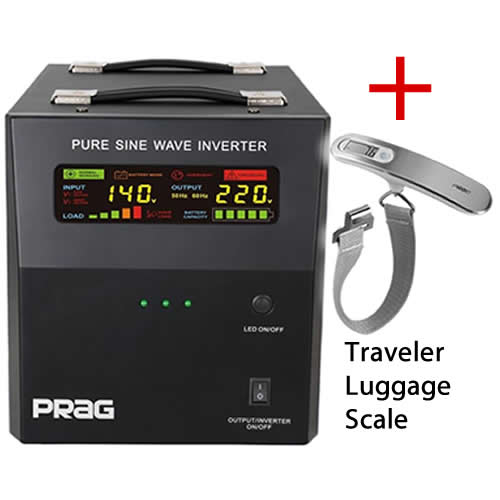 PRAG + Traveler Luggage Scale