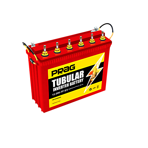 PRAG Inverter Battery 12V 200AH TF-EX Tubular Battery