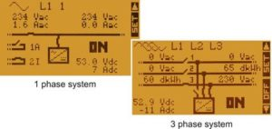1 & 3 Phase System