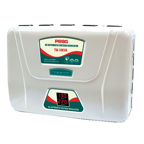 10KVA Servo Voltage Stabilizer (130V-250V)