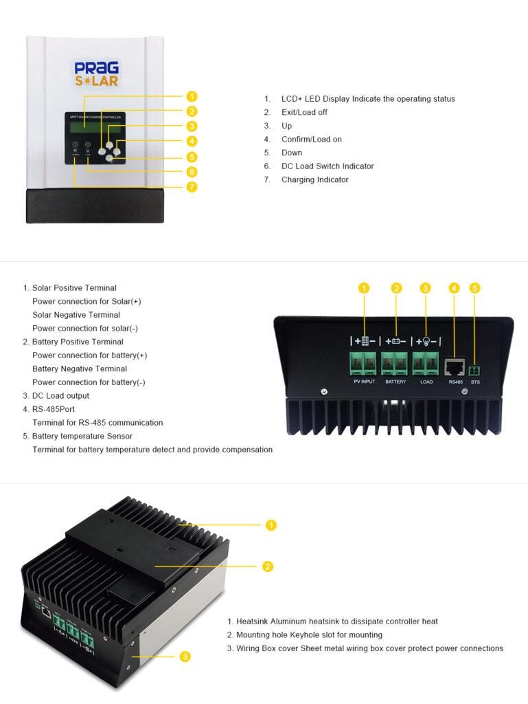 PRAG Solar MPPT Charge Controller 4