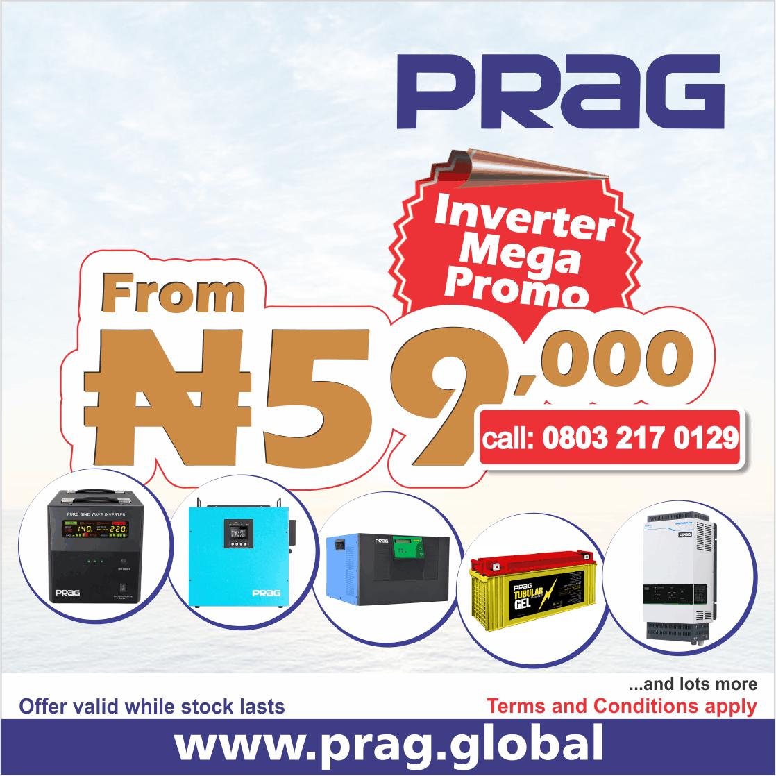 PRAG Inverter Mega Promo