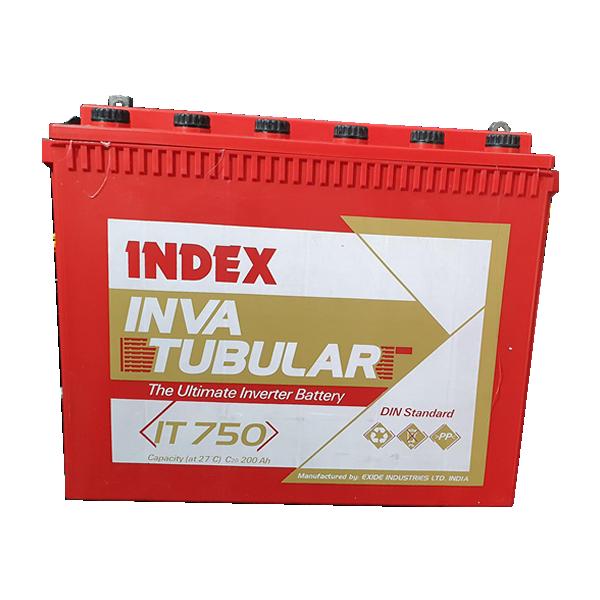 12V 200AH INDEX Tubular Flooded Battery